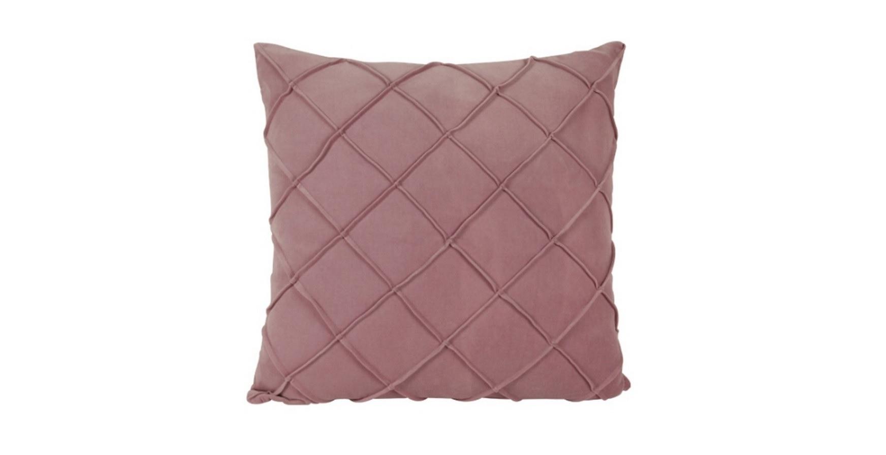 Чехол на подушкуКвадратные подушки<br>Чехол на подушку розового цвета от датского бренда g&amp;amp;c.<br><br>Material: Текстиль<br>Length см: None<br>Width см: 45<br>Depth см: 10<br>Height см: 45<br>Diameter см: None