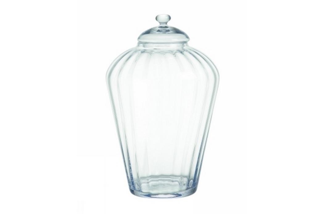 Ваза с крышкойЕмкости для хранения<br>Прозрачная ваза с крышкой от бельгийского бренда pomax. Будет служить местом хранения сладостей, сувениров и безделушек.<br><br>Material: Стекло<br>Length см: None<br>Width см: None<br>Depth см: None<br>Height см: 39<br>Diameter см: 25