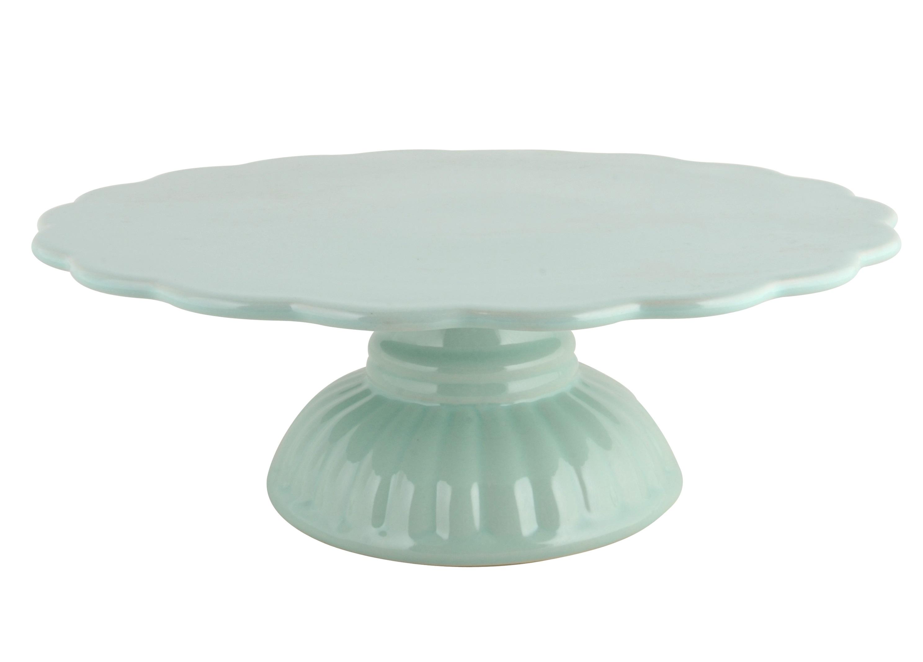 Подставка для торта и сладостейПодставки и доски<br>Можно использовать в микроволновой печи, посудомоечной машине и в духовке<br><br>Material: Керамика<br>Height см: 9<br>Diameter см: 29