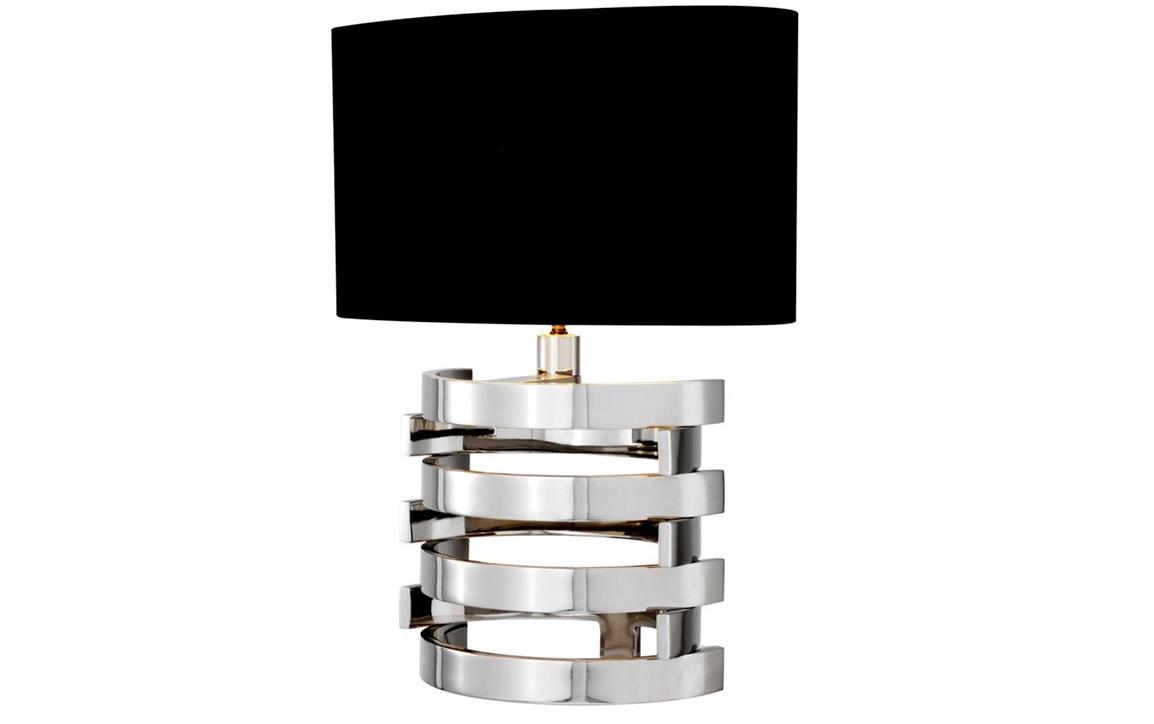 Настольная лампа Table Lamp Boxter SДекоративные лампы<br>Настольная лампа Table Lamp Boxter S на основании из никелированного металла с оригинальным дизайном. Текстильный абажур черного цвета скрывает лампу.&amp;lt;div&amp;gt;&amp;lt;br&amp;gt;&amp;lt;/div&amp;gt;&amp;lt;div&amp;gt;&amp;lt;div style=&amp;quot;line-height: 24.9999px;&amp;quot;&amp;gt;Вид цоколя: Е27&amp;lt;/div&amp;gt;&amp;lt;div style=&amp;quot;line-height: 24.9999px;&amp;quot;&amp;gt;Мощность: 40W&amp;lt;/div&amp;gt;&amp;lt;div style=&amp;quot;line-height: 24.9999px;&amp;quot;&amp;gt;Количество ламп: 1&amp;lt;/div&amp;gt;&amp;lt;/div&amp;gt;<br><br>Material: Металл<br>Width см: 35<br>Depth см: 35<br>Height см: 50