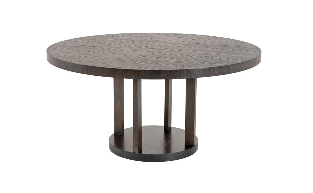 Обеденный стол Dining Table DrummondОбеденные столы<br>Обеденный стол Dining Table Drummond выполнен из дерева коричневого цвета.<br><br>Material: Дерево<br>Высота см: 75