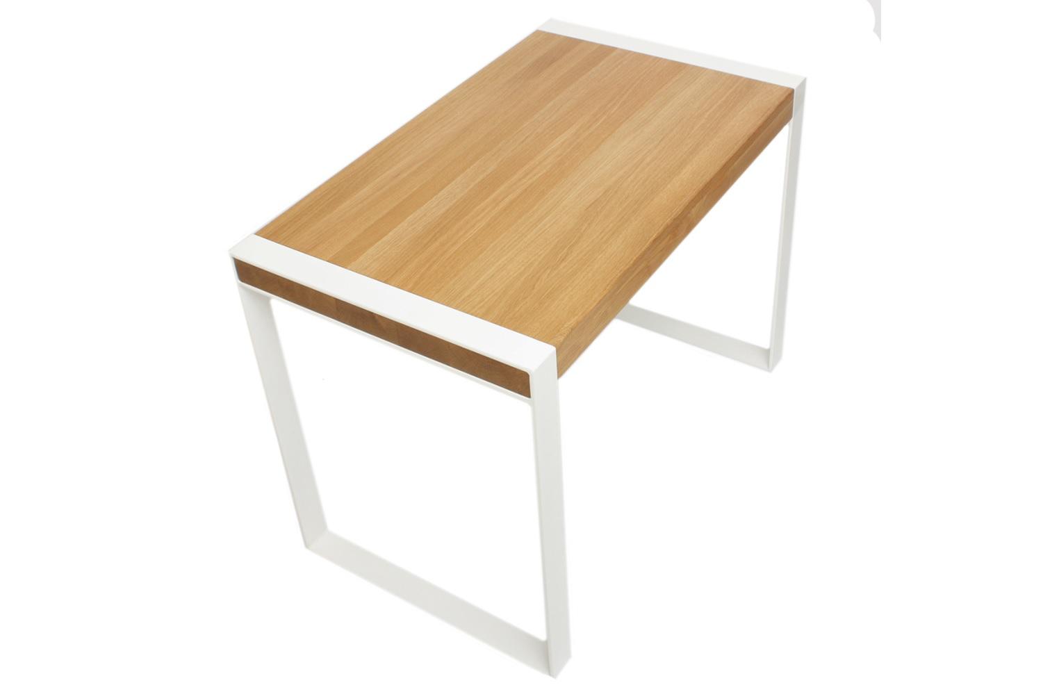 Стол ПаниусПисьменные столы<br>Массивная столешница из массива дуба на металлических ножках. Простой, надежный и современный стол.<br><br>Material: Дерево<br>Ширина см: 120<br>Высота см: 75<br>Глубина см: 70