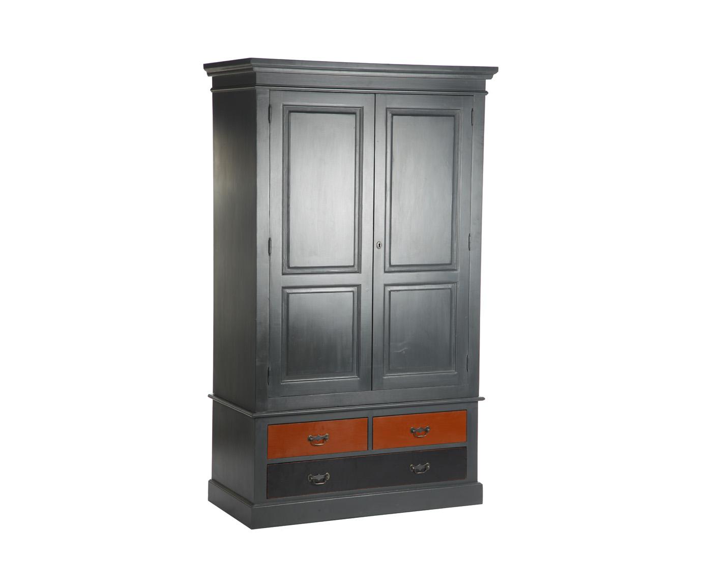 Шкаф двухдверныйПлатяные шкафы<br>Несомненным преимуществом цветной мебели &amp;quot;Кантри&amp;quot; является ее высокое качество. Коллекция изготовлена в Румынии и выполнена полностью из массива дерева (средиземноморская сосна). Мебель &amp;quot;Кантри&amp;quot; рассчитана на длительное и активное использование.<br>Кроме того, большая часть предметов коллекции  &amp;quot;Кантри&amp;quot; покрыта двумя слоями красок разных цветов и запатинирована. Искусственная состаренность придает мебели особый теплый деревенский шарм.&amp;lt;div&amp;gt;&amp;lt;br&amp;gt;&amp;lt;/div&amp;gt;&amp;lt;div&amp;gt;Шкаф двухдверный с 4 ящиками, ручки - античное покрытие.&amp;lt;/div&amp;gt;<br><br>Material: Сосна<br>Length см: None<br>Width см: 120<br>Depth см: 59<br>Height см: 197<br>Diameter см: None