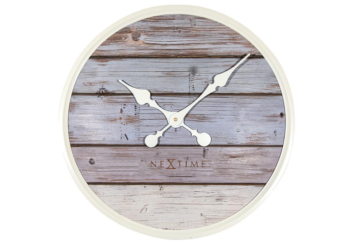 Настенные часы PLANKНастенные часы<br>Кварцевый механизм.<br><br>Material: Дерево<br>Diameter см: 50