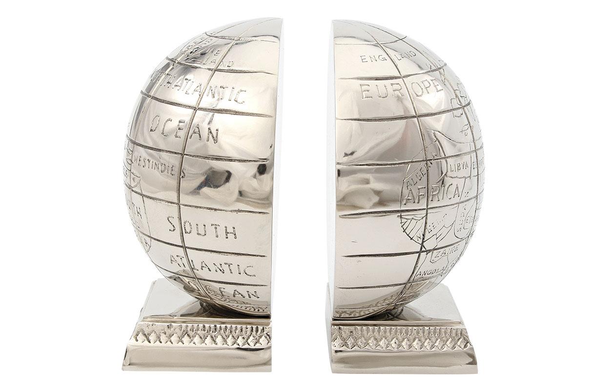 Держатель для книг Алюминиевый глобусДержатели для книг<br><br><br>Material: Алюминий<br>Ширина см: 15<br>Высота см: 17<br>Глубина см: 8