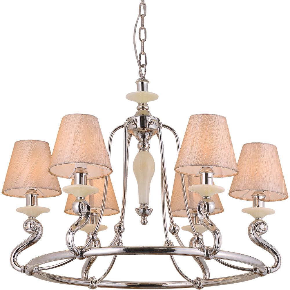 Подвесной светильникЛюстры подвесные<br>&amp;lt;div&amp;gt;Тип цоколя: E14&amp;lt;/div&amp;gt;&amp;lt;div&amp;gt;Мощность лампы: 40W&amp;amp;nbsp;&amp;lt;/div&amp;gt;&amp;lt;div&amp;gt;Количество ламп: 6&amp;lt;/div&amp;gt;<br><br>Material: Металл<br>Высота см: 59