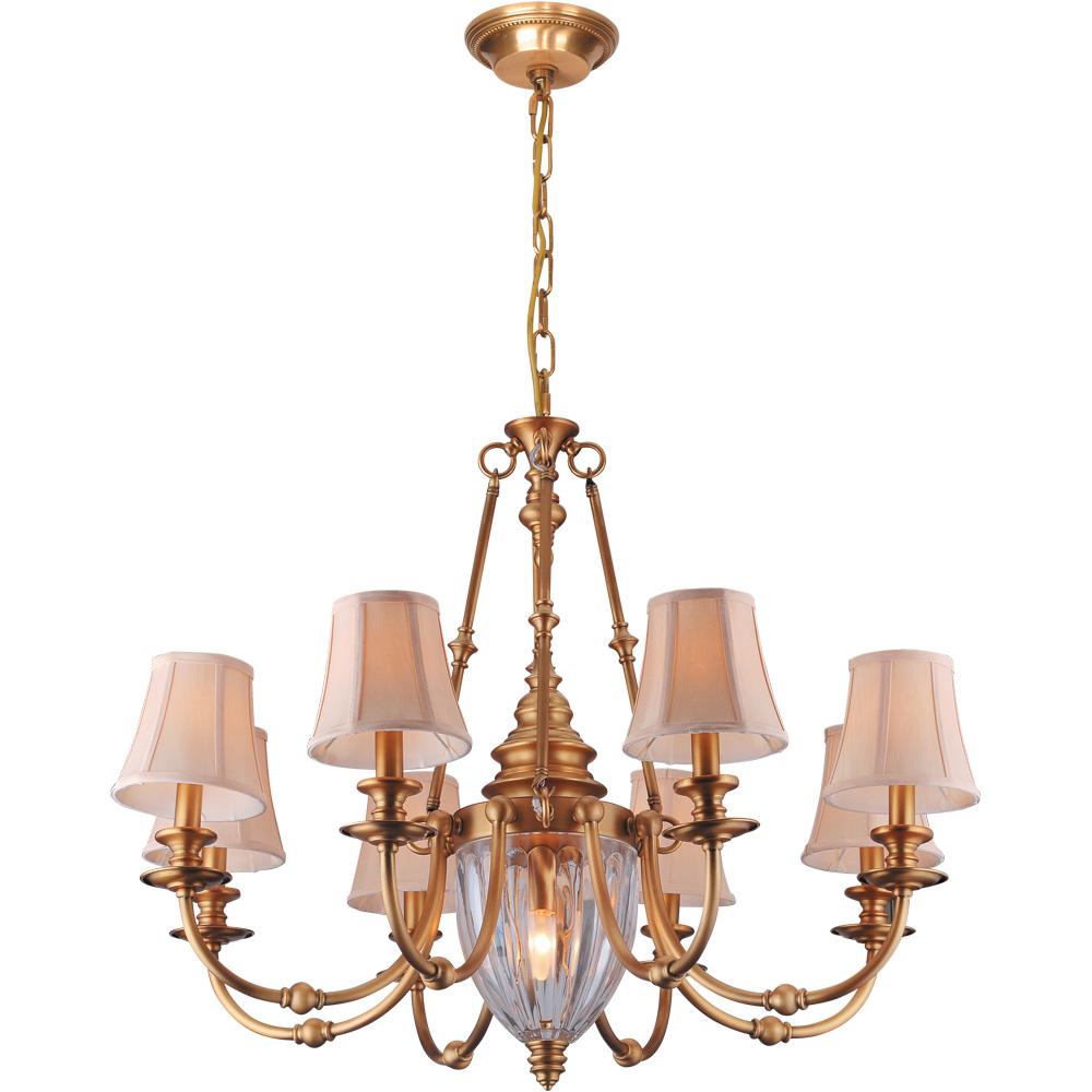 Подвесной светильникЛюстры подвесные<br>&amp;lt;div&amp;gt;Тип цоколя: E14&amp;lt;/div&amp;gt;&amp;lt;div&amp;gt;Мощность лампы: 40W&amp;amp;nbsp;&amp;lt;/div&amp;gt;&amp;lt;div&amp;gt;Количество ламп: 8&amp;lt;/div&amp;gt;&amp;lt;div&amp;gt;&amp;lt;br&amp;gt;&amp;lt;/div&amp;gt;&amp;lt;div&amp;gt;Материал: металл, стекло, ткань.&amp;lt;br&amp;gt;&amp;lt;/div&amp;gt;<br><br>Material: Металл<br>Height см: 71<br>Diameter см: 90