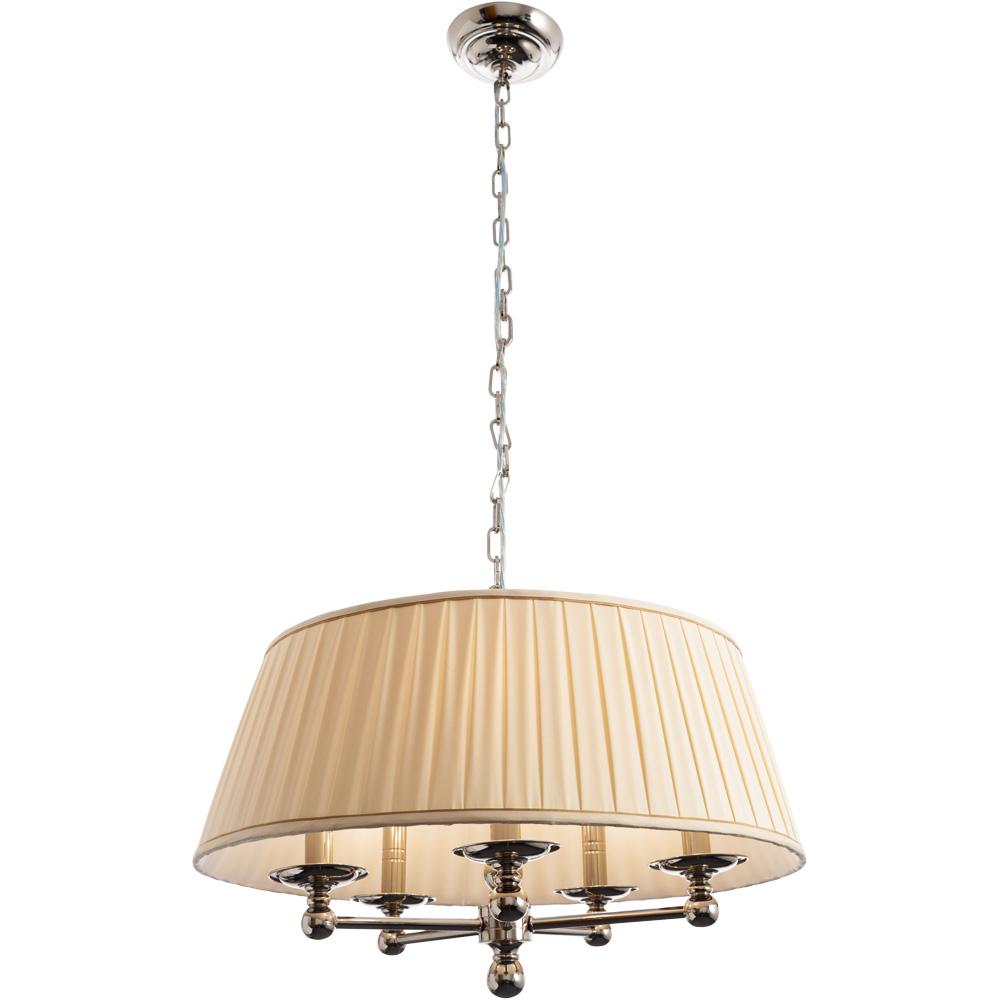Подвесной светильникПодвесные светильники<br>&amp;lt;div&amp;gt;Тип цоколя: E14&amp;lt;/div&amp;gt;&amp;lt;div&amp;gt;Мощность лампы: 40W&amp;amp;nbsp;&amp;lt;/div&amp;gt;&amp;lt;div&amp;gt;Количество ламп: 5&amp;lt;/div&amp;gt;&amp;lt;div&amp;gt;&amp;lt;br&amp;gt;&amp;lt;/div&amp;gt;&amp;lt;div&amp;gt;Материал: металл, ткань.&amp;lt;br&amp;gt;&amp;lt;/div&amp;gt;<br><br>Material: Металл<br>Height см: 36<br>Diameter см: 56