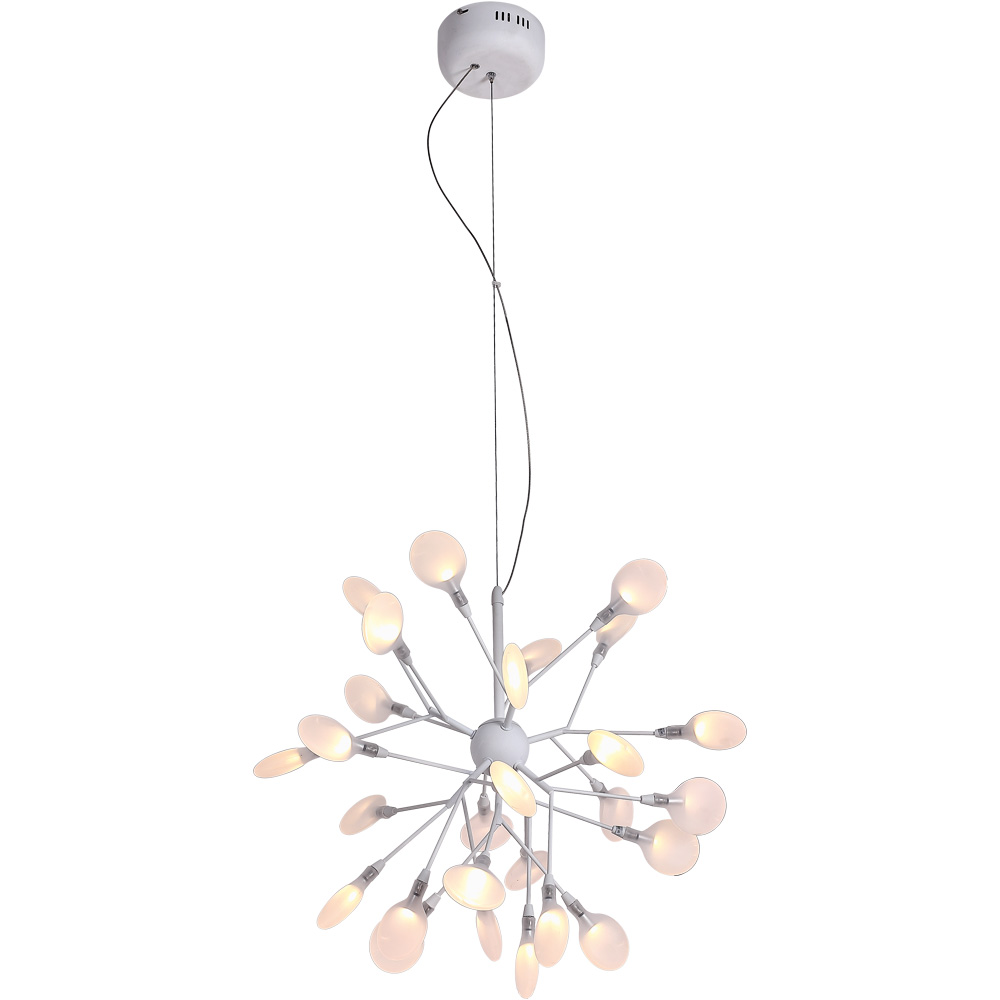 Подвесной светильникПодвесные светильники<br>&amp;lt;div&amp;gt;Тип цоколя: LED (G4)&amp;lt;/div&amp;gt;&amp;lt;div&amp;gt;Мощность лампы: 1W&amp;amp;nbsp;&amp;lt;/div&amp;gt;&amp;lt;div&amp;gt;Количество ламп: 27&amp;lt;/div&amp;gt;&amp;lt;div&amp;gt;Наличие ламп в комплекте: да&amp;lt;/div&amp;gt;&amp;lt;div&amp;gt;&amp;lt;br&amp;gt;&amp;lt;/div&amp;gt;&amp;lt;div&amp;gt;Материал: металл, стекло.&amp;lt;br&amp;gt;&amp;lt;/div&amp;gt;<br><br>Material: Металл<br>Height см: 53<br>Diameter см: 60