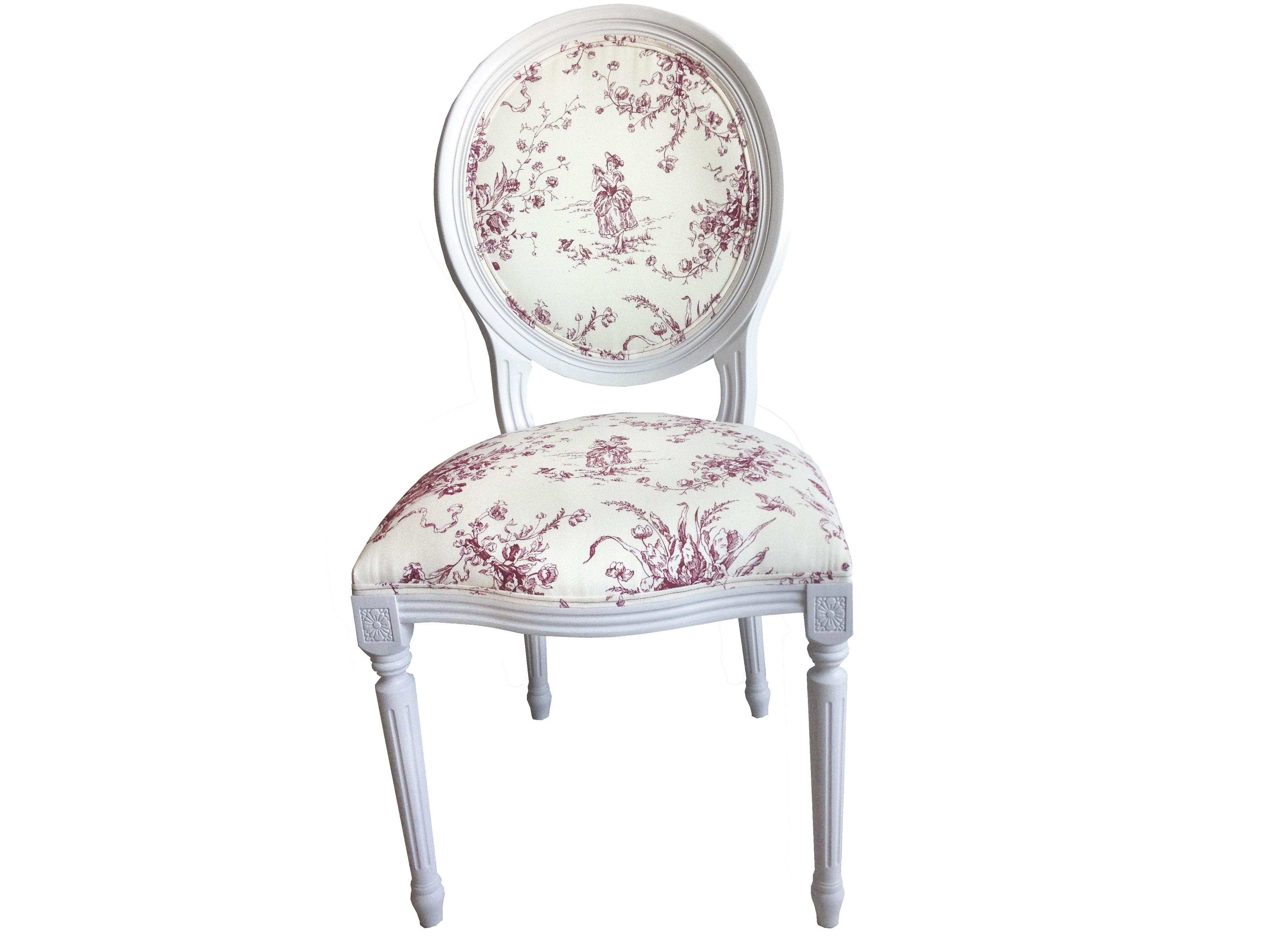 Стул Снежный ПровансОбеденные стулья<br>Белая мебель Прованс для гостиной, спальни, столовой, кабинета отлично впишется в Ваш загородный дом. Белая высококачественная мебель &amp;quot;Снежный Прованс&amp;quot; также может послужить в качестве обстановки детской комнаты подростка. Это функциональная удобная мебель европейского качества. Коллекция изготовлена из массива бука (каркасы и точеные элементы мебели) и из высококачественного МДФ (филенчатые части) и соответствует немецким стандартам для детской мебели.<br>Мебель &amp;quot;Снежный Прованс&amp;quot; имеет плавные изогнутые формы и украшена потертым вручную декором в виде оливковой ветви. Белый с потертостями, выполненными вручную.&amp;lt;div&amp;gt;&amp;lt;br&amp;gt;&amp;lt;/div&amp;gt;&amp;lt;div&amp;gt;Стул Снежный Прованс с мягким сидением имеет изящные формы. Спинка стула с мягкой обивкой  имеет красивую форму медальона. Искусственно состаренное натуральное дерево придает стулу шарма французского Прованса.&amp;lt;/div&amp;gt;<br><br>Material: Текстиль<br>Ширина см: 50.0<br>Высота см: 96.0<br>Глубина см: 50.0