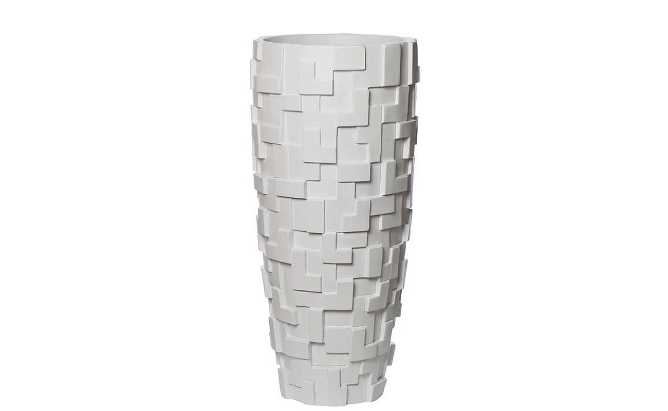 КашпоКашпо<br>Материал: полисмола<br><br>Material: Пластик<br>Height см: 69<br>Diameter см: 32