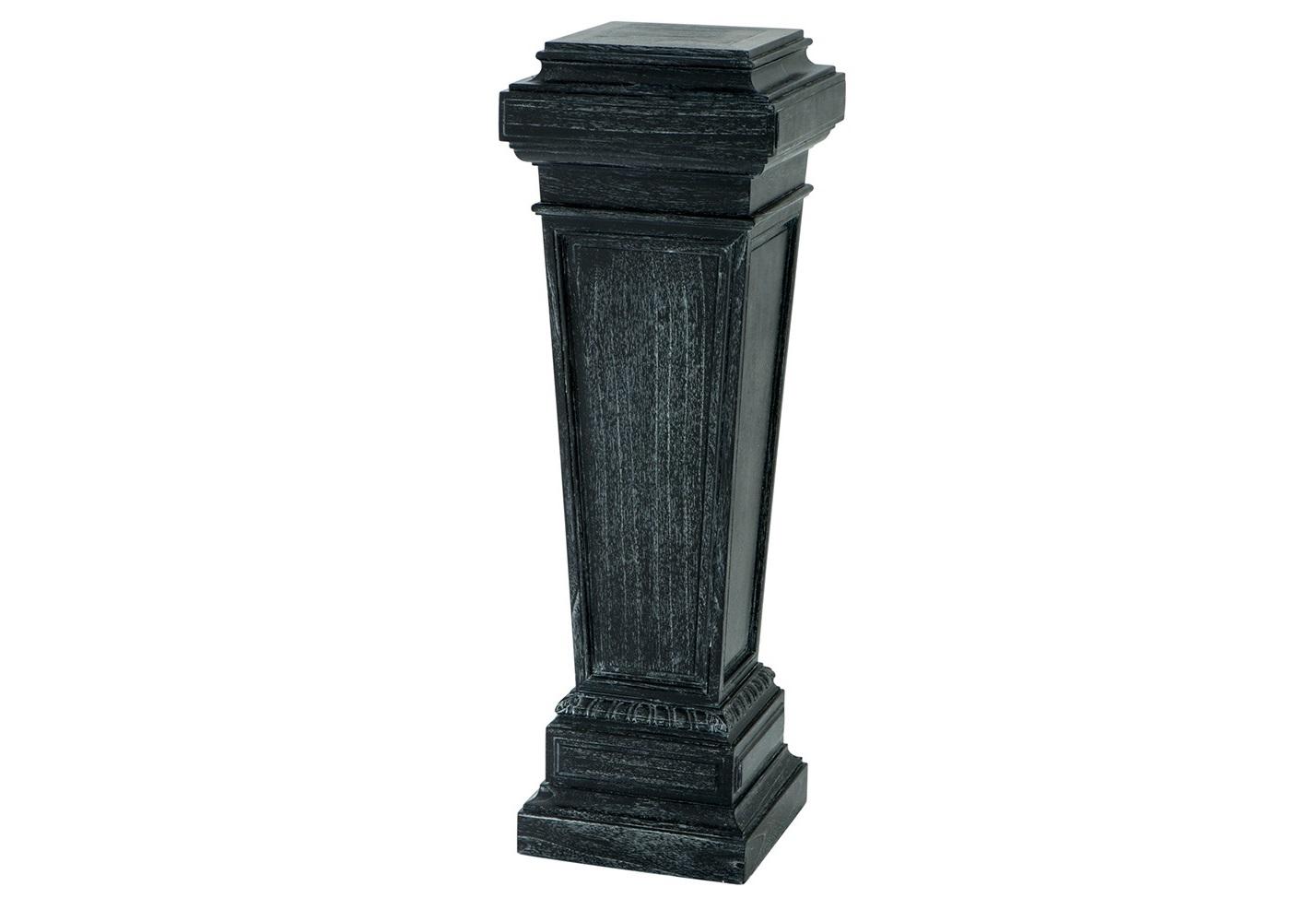 КолоннаПьедесталы<br>Колонна Column Oxford выполнена из дерева черного цвета с эффектом состаривания.<br><br>Material: Дерево<br>Ширина см: 38<br>Высота см: 114<br>Глубина см: 38