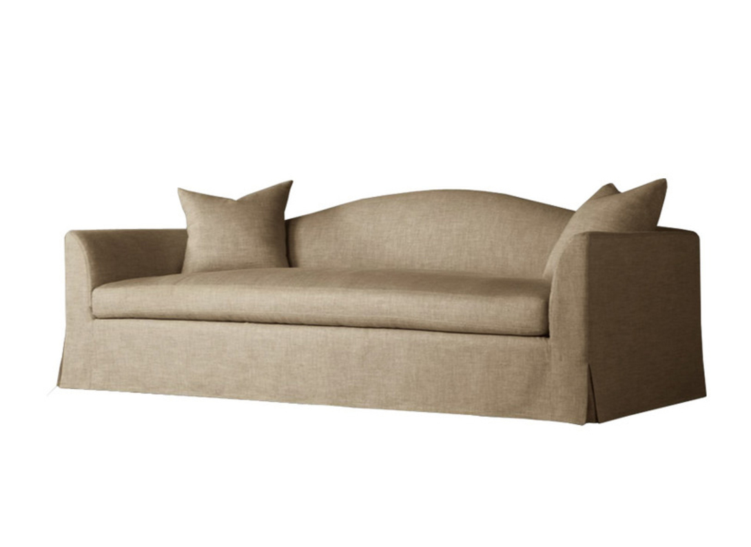 Диван SANDY HILL SOFAТрехместные диваны<br>Трехместный диван песочного цвета отлично впишется в интерьер гостиной в стиле Тиффани. Ваши гости и вы, безусловно, оцените комфортную форму и натуральную отделку непревзойденного качества.<br><br>Material: Хлопок<br>Width см: 244<br>Depth см: 91<br>Height см: 84