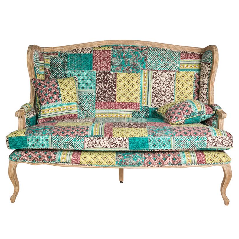 ДиванеткаДвухместные диваны<br>Двухместный диванчик - лав-сит - на резном деревянном каркасе. Выполнен в классическом стиле. Подушка сиденья независимая. Модель предлагается в текстильной обивке .<br>Материал: красное дерево, ткань<br><br>Material: Текстиль<br>Length см: 150<br>Width см: 80<br>Depth см: None<br>Height см: 104<br>Diameter см: None