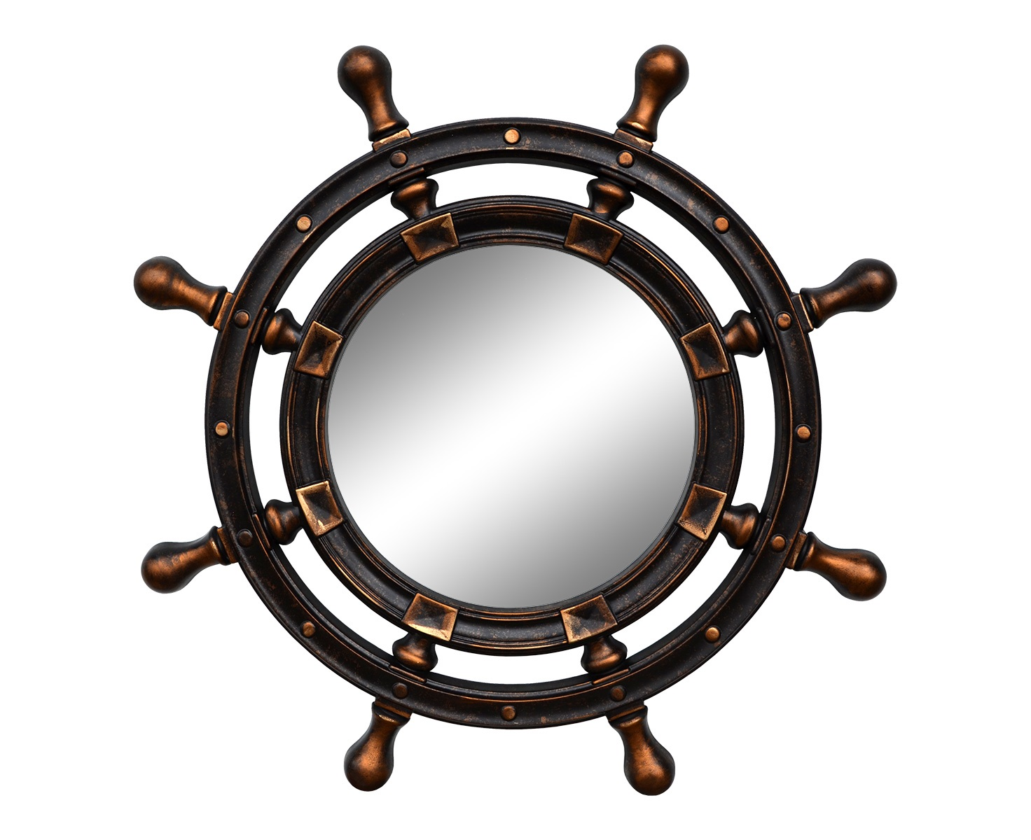 Зеркало ШтурвалНастенные зеркала<br>&amp;lt;div&amp;gt;Основные особенности ППУ: Безопасен для здоровья, не содержит вещества вызывающие аллергию, долговечность, надежность, жесткость, влагостойкость. Все декоративные красители - грунты, эмали, воски обладают высокой стойкостью.&amp;amp;nbsp;&amp;lt;/div&amp;gt;&amp;lt;div&amp;gt;Основное преимущество использованных материалов - это отсутствие запахов и быстрое высыхание, а также экологичность.&amp;amp;nbsp;&amp;lt;/div&amp;gt;&amp;lt;div&amp;gt;&amp;lt;br&amp;gt;&amp;lt;/div&amp;gt;&amp;lt;div&amp;gt;Рекомендации по уходу: бережная, влажная уборка.&amp;amp;nbsp;&amp;lt;/div&amp;gt;&amp;lt;div&amp;gt;Запрещается использование любых растворителей.&amp;lt;/div&amp;gt;<br><br>Material: Полиуретан<br>Length см: None<br>Width см: None<br>Depth см: 4<br>Height см: None<br>Diameter см: 96
