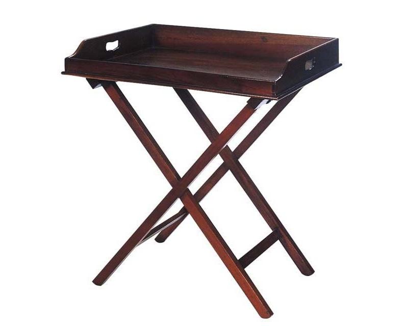 СтолСервировочные столики<br>Сервировочный столик Butler Tray Osborn выполнен из вишневого дерева.<br><br>Material: Дерево<br>Ширина см: 77<br>Высота см: 87<br>Глубина см: 60
