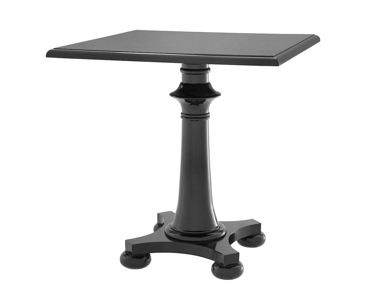 СтолОбеденные столы<br>Столик Table Guinness выполнен из дерева черного цвета.<br><br>Material: Дерево<br>Width см: 75<br>Depth см: 75<br>Height см: 75