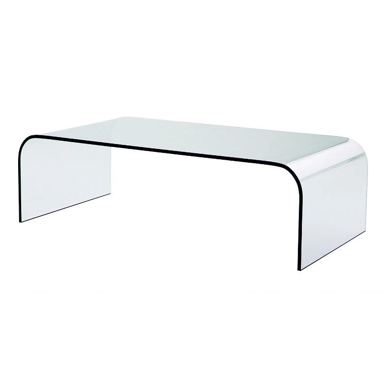 Журнальный столикЖурнальные столики<br>Журнальный столик Coffee Table Monti выполнен из цельного прозрачного стекла.<br><br>Material: Стекло<br>Width см: 135<br>Depth см: 70<br>Height см: 40