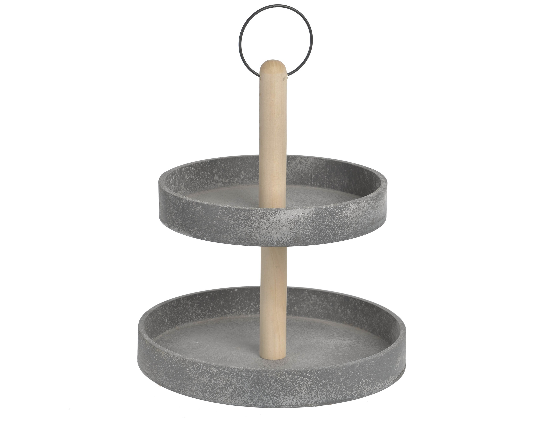 Блюдо-этажерка, 2 уровня