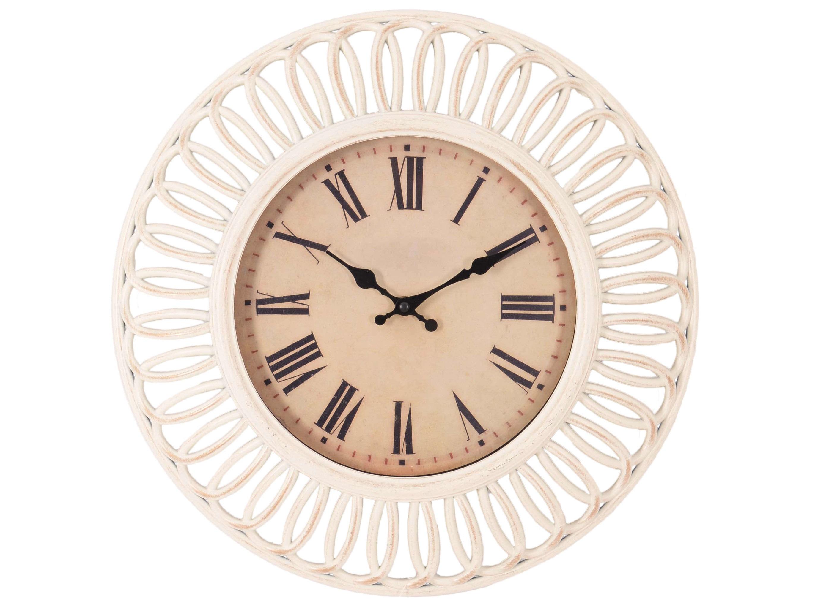 Часы настенные DubboНастенные часы<br>кварцевый механизм<br><br>Material: Пластик<br>Depth см: 4<br>Diameter см: 41