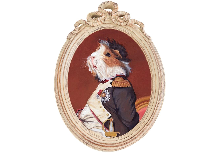 Репродукция гравюры Музейный экспонат, версия 47Картины<br>Прототипом персонажа коллекции &amp;quot;Музейный экспонат&amp;quot; послужил портрет  Наполеона в кабинете дворца Тюильри, написанный Жаком-Луи Давидом в 1812 году. Французский полководец предстает зрителю в рабочем кабинете, расположенном на первом этаже дворца, изображённый в скромной униформе полковника гренадеров гвардейской пехоты.&amp;amp;nbsp;Искусная техника состаривания придает раме специфический уют и обаяние. Профессиональная печать на холсте детально передает каждое движение кисти художника. Удобное крепление рамы позволит без труда разместить её на стене.&amp;lt;div&amp;gt;&amp;lt;br&amp;gt;&amp;lt;/div&amp;gt;&amp;lt;div&amp;gt;Материал рамы - полистоун. Репродукция отпечатана на холсте.&amp;lt;/div&amp;gt;<br><br>Material: Холст<br>Width см: 30.5<br>Depth см: 4<br>Height см: 43