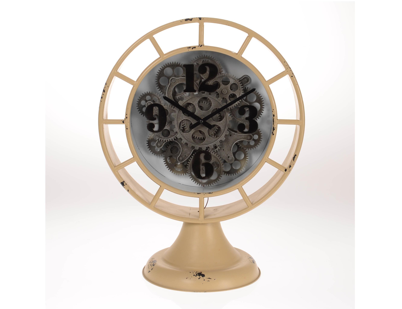Часы настольные  AcirealeНастольные часы<br>кварцевый механизм<br><br>Material: Металл<br>Ширина см: 40<br>Высота см: 52<br>Глубина см: 24