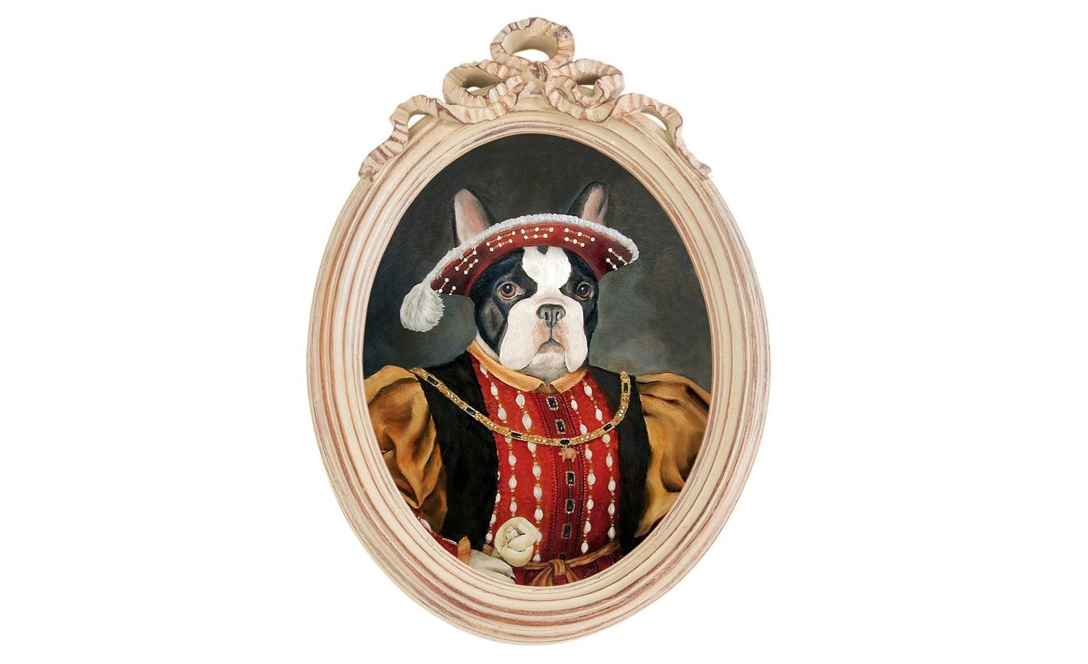 Репродукция гравюры Музейный экспонат, версия 45Картины<br>Прототипом персонажа &amp;quot;Музейный экспонат&amp;quot; (версия 45) послужил портрет Генриха VIII Тюдора - английского короля XVI века,  сына и наследника Генриха  VII (второго английского монарха из династии Тюдоров). Генрих VIII наиболее известен Английской Реформацией, превратившей англичан в протестантскую нацию. Король прославился также необычным для христианина числом браков, — у него было шесть жён. <br>Рама &amp;quot;Бернадетт&amp;quot; - счастливая встреча золотых столетий французской культуры.&amp;amp;nbsp;Искусная техника состаривания придает раме специфический уют и обаяние. Профессиональная печать на холсте детально передает каждое движение кисти художника. Удобное крепление рамы позволит без труда разместить её на стене.&amp;lt;div&amp;gt;&amp;lt;br&amp;gt;&amp;lt;/div&amp;gt;&amp;lt;div&amp;gt;Материал рамы - полистоун. Репродукция отпечатана на холсте.&amp;lt;/div&amp;gt;<br><br>Material: Холст<br>Ширина см: 30.5<br>Высота см: 43.0<br>Глубина см: 4.0