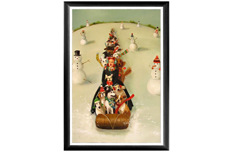 Object Desire Арт-постер «Рождественские каникулы»