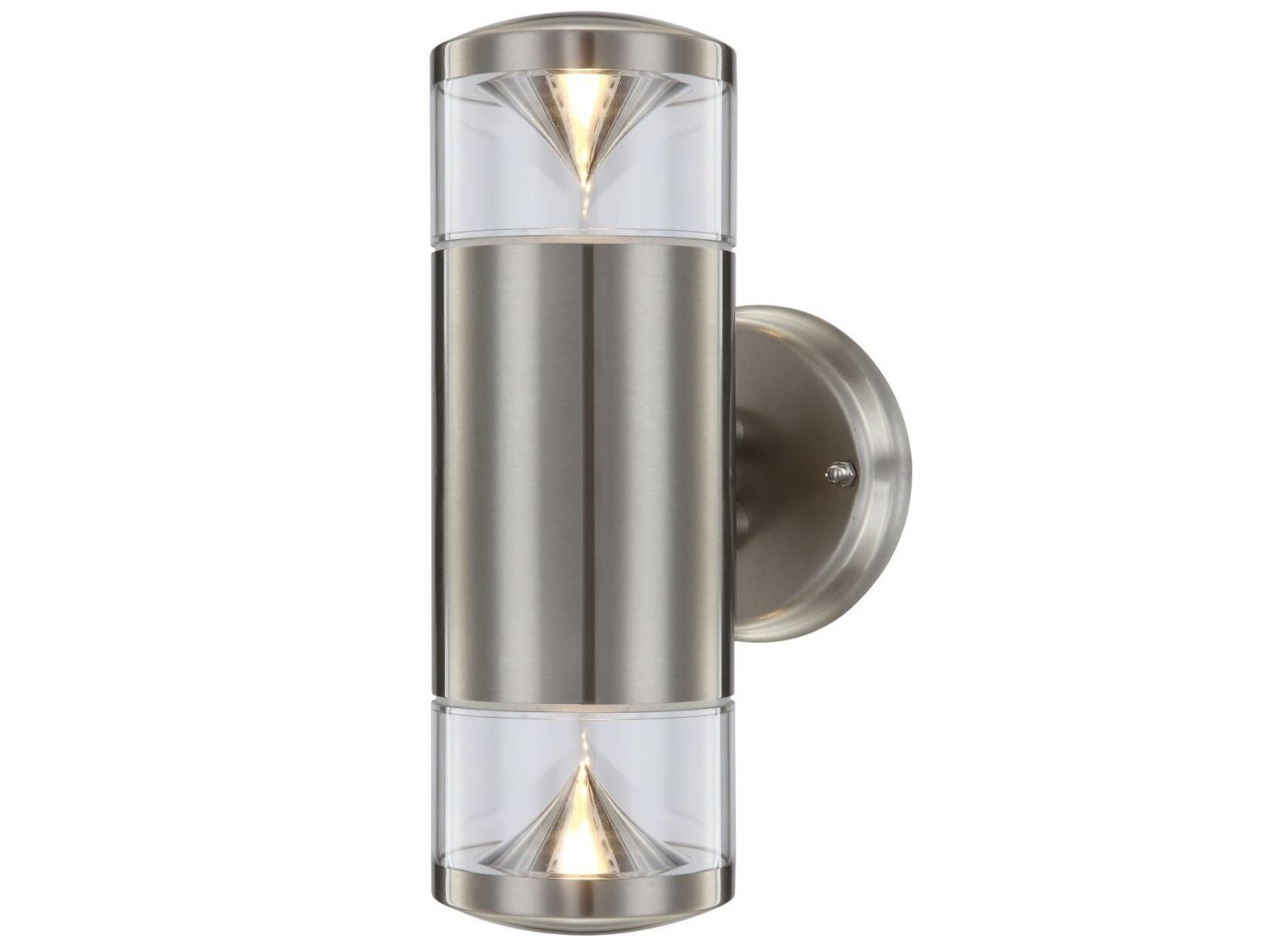 Светильник уличныйУличные настенные светильники<br>&amp;lt;div&amp;gt;&amp;lt;div style=&amp;quot;line-height: 24.9999px;&amp;quot;&amp;gt;Вид цоколя: GU10 LED&amp;lt;/div&amp;gt;&amp;lt;div style=&amp;quot;line-height: 24.9999px;&amp;quot;&amp;gt;Мощность: 5W&amp;lt;/div&amp;gt;&amp;lt;div style=&amp;quot;line-height: 24.9999px;&amp;quot;&amp;gt;Количество ламп: 2&amp;lt;/div&amp;gt;&amp;lt;/div&amp;gt;&amp;lt;div&amp;gt;&amp;lt;/div&amp;gt;<br><br>Material: Металл<br>Width см: 11,5<br>Depth см: 11,5<br>Height см: 26,6