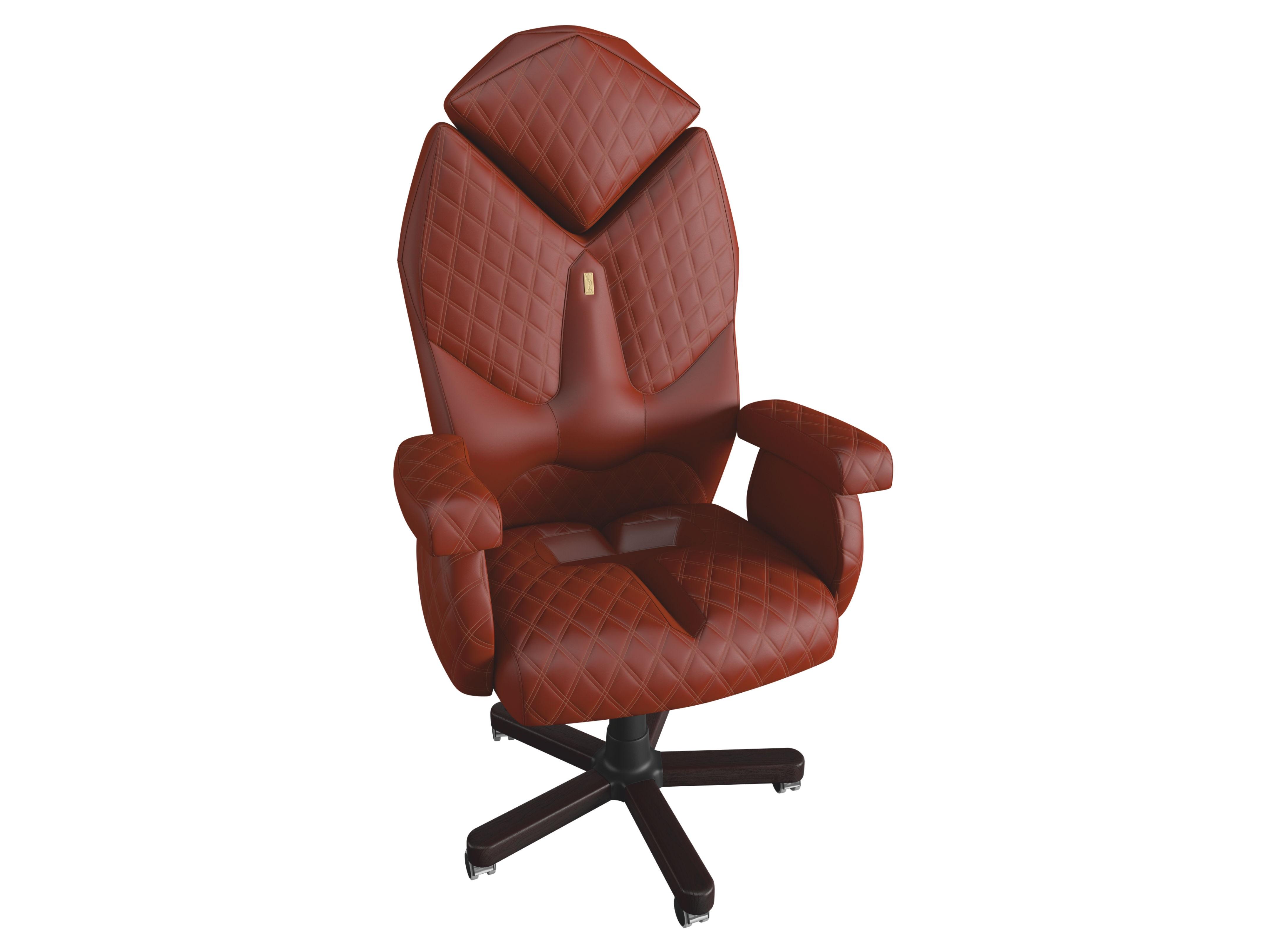 Кресло DIAMONDРабочие кресла<br>Великолепное кресло руководителя Luxury-класса имеет специально разработанную системуKulik System и не только поддерживает, но и корректирует позвоночник. Это статусное кресло идеально подойдет для активного, уверенного в себе и, самое главное, успешного лидера, который хочет иметь все самое лучшее и всегда добивается своей цели.&amp;amp;nbsp;<br><br>Material: Кожа<br>Length см: None<br>Width см: 96<br>Depth см: 79<br>Height см: 149,5<br>Diameter см: None