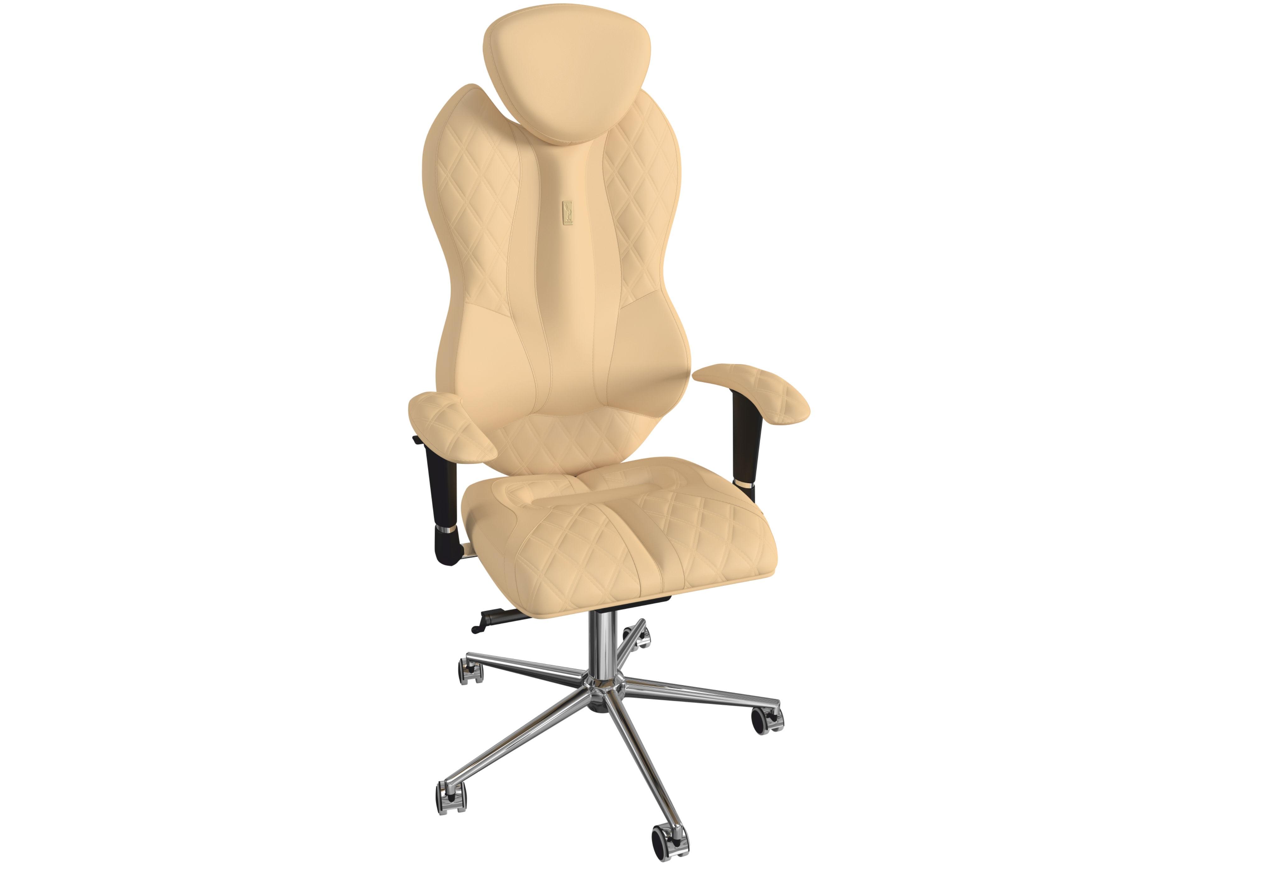 Кресло GRANDEРабочие кресла<br>Эта модель создана для того, что бы дарить особое ощущение удобства и комфорта своему владельцу. Это кресло убережет вас от усталости и будет держать вас в рабочем тонусе.&amp;amp;nbsp;<br><br>Material: Кожа<br>Length см: None<br>Width см: 71<br>Depth см: 58<br>Height см: 147<br>Diameter см: None