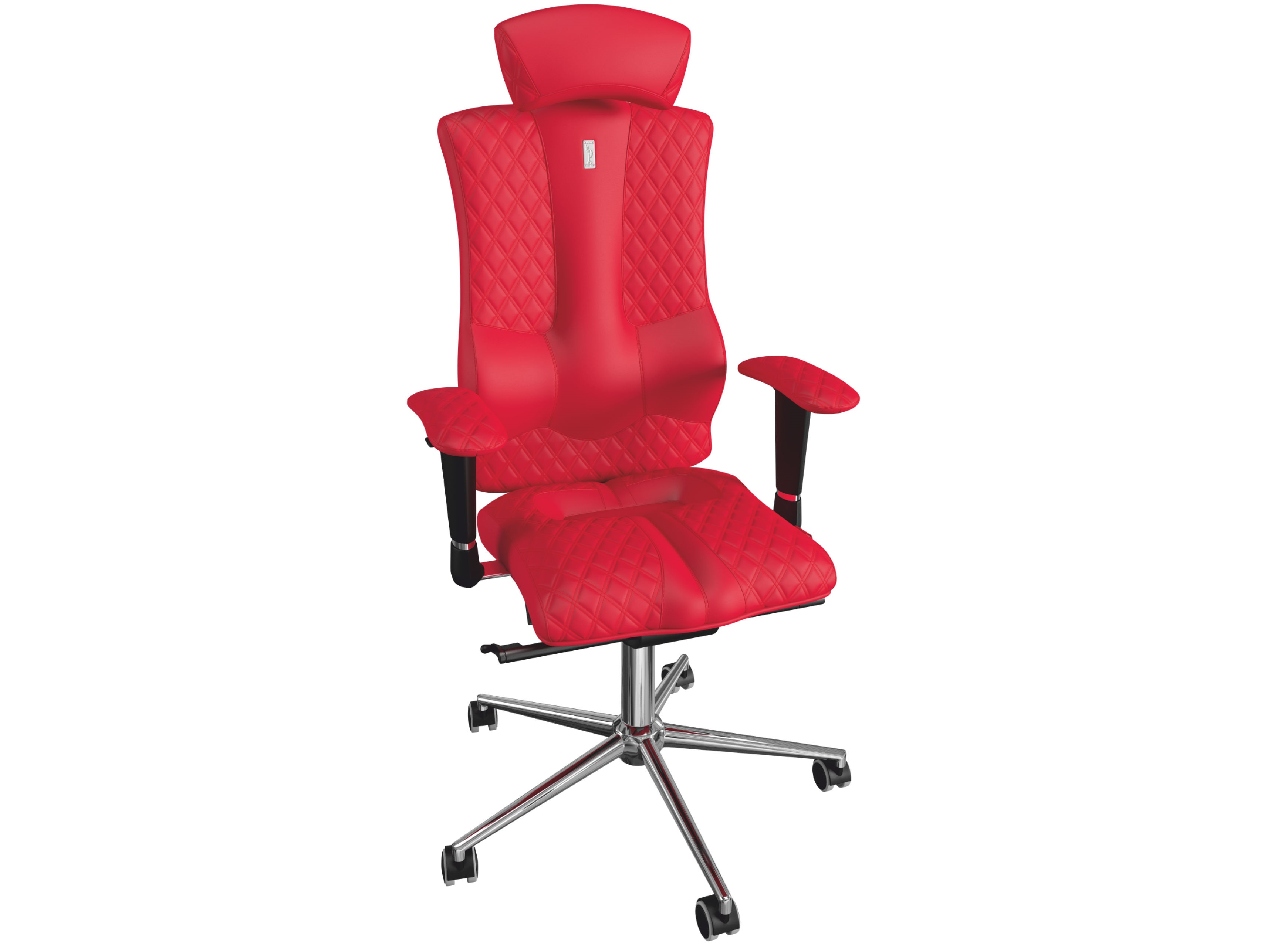 Кресло ELEGANCEРабочие кресла<br>На это кресло невозможно не обратить внимание. Изысканный вид и благородная элегантность модели дарят его владельцу ощущение гармонии и совершенства. Такое кресло идеально впишется в любой интерьер, будь то самый современный офис или же уютный дом.&amp;amp;nbsp;<br><br>Material: Кожа<br>Length см: -<br>Width см: 62<br>Depth см: 57<br>Height см: 133<br>Diameter см: None