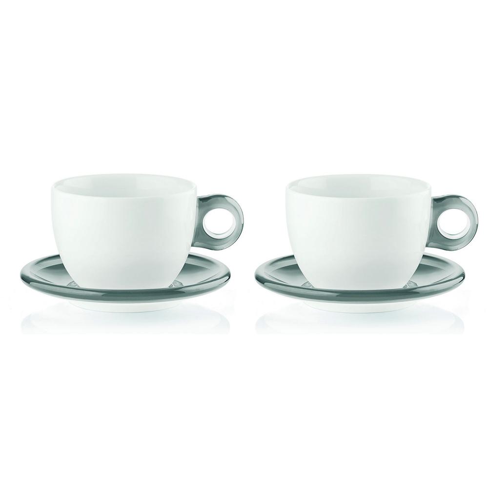 Набор чашек Gocce (2 шт)Чайные пары и чашки<br>Набор из двух фарфоровых чашек с ручками и блюдцами из органического стекла. Специальная техника по работе с акрилом позволяет создавать двухуровневый, &amp;quot;объемный&amp;quot; цвет, который прекрасно контрастирует с белизной фарфора. Чашки идеально подойдут для утреннего кофе или вечернего чаепития. Они будут одинаково хорошо смотреться как в квартире, так и в загородном доме, а так же во время пикника на свежем воздухе.&amp;amp;nbsp;&amp;lt;div&amp;gt;&amp;lt;br&amp;gt;&amp;lt;/div&amp;gt;&amp;lt;div&amp;gt;Объем - 480 мл.&amp;amp;nbsp;&amp;lt;/div&amp;gt;&amp;lt;div&amp;gt;Можно мыть в посудомоечной машине и использовать в микроволновой печи.&amp;lt;/div&amp;gt;<br><br>Material: Стекло<br>Width см: 34,5<br>Depth см: 12,5<br>Height см: 23
