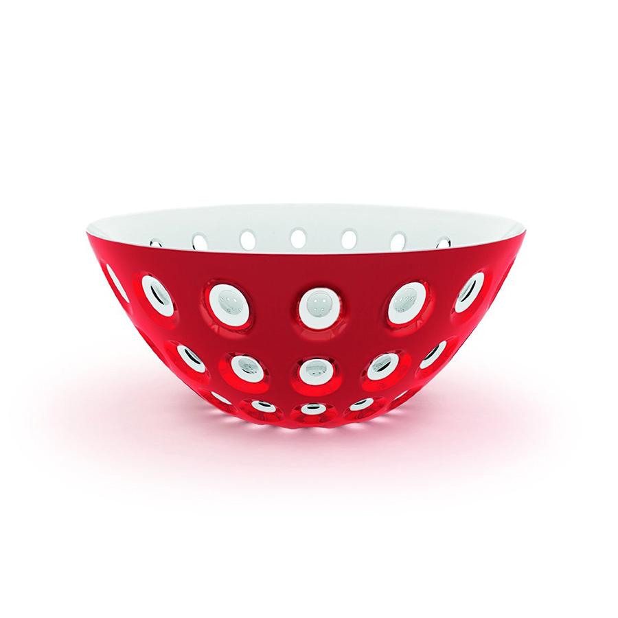Салатница Le murrineМиски и чаши<br>Эта оригинальная салатница Le Murrine является результатом инновационного исследования Guzzini в области форм и материалов. Технология инжекторной трехцветной штамповки 3 Color Tech образует уникальный эффект, который делает салатницу изысканным и неповторимым предметом для сервировки. Наложенные друг на друга три слоя пластмассы позволяют создавать игру цвета, чередовать плотные и прозрачные, полированные и матовые поверхности.<br>Салатница подойдет для подачи десертов, выпечки, мороженого и других блюд, а так же может служить изящным декоративным элементом вашего дома.&amp;amp;nbsp;&amp;lt;div&amp;gt;&amp;lt;br&amp;gt;&amp;lt;/div&amp;gt;&amp;lt;div&amp;gt;&amp;amp;nbsp;&amp;lt;/div&amp;gt;&amp;lt;div&amp;gt;Объем 2,7 л.&amp;amp;nbsp;&amp;lt;/div&amp;gt;&amp;lt;div&amp;gt;Изготовлена из безопасного высококачественного пластика, устойчивого к износу и повреждениям.&amp;lt;/div&amp;gt;<br><br>Material: Пластик<br>Height см: 25<br>Diameter см: 25