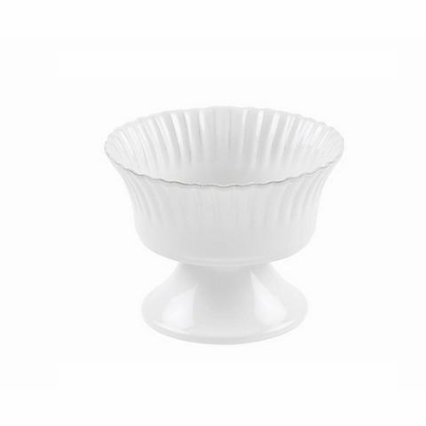 Чаша на ножкеЧаши<br>Costa Nova (Португалия) – керамическая посуда из самого сердца Португалии. Она максимально эстетична и функциональна. Керамическая посуда Costa Nova абсолютно устойчива к мытью, даже в посудомоечной машине, ее вполне можно использовать для замораживания продуктов и в микроволновой печи, при этом можно не бояться повредить эту великолепную глазурь и свежие краски. Такую посуду легко мыть, при ее очистке можно использовать металлические губки – и все это благодаря прочному глазурованному покрытию.&amp;amp;nbsp;<br><br>Material: Керамика<br>Diameter см: 16