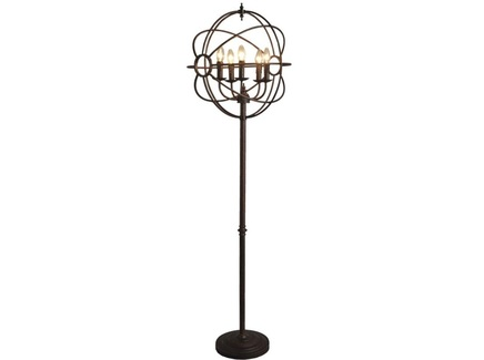 "Напольная лампа ""Iron Orb Floor Lamp"""