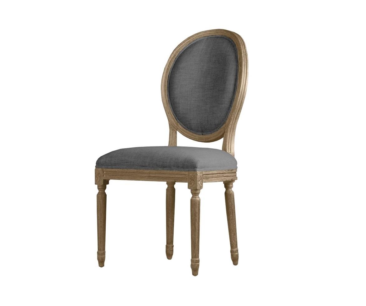 Стул Louis side chairОбеденные стулья<br><br><br>Material: Текстиль<br>Width см: 51<br>Depth см: 61<br>Height см: 102