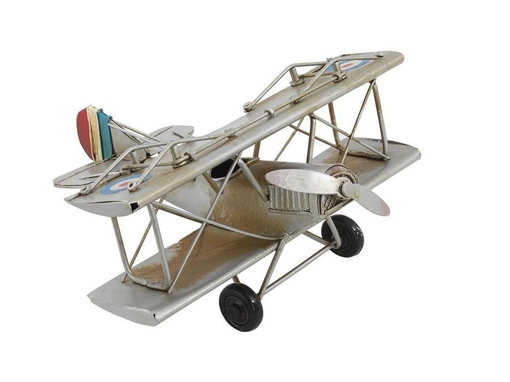 Модель аэроплан VivaДругое<br><br><br>Material: Металл<br>Ширина см: 16<br>Высота см: 8<br>Глубина см: 16