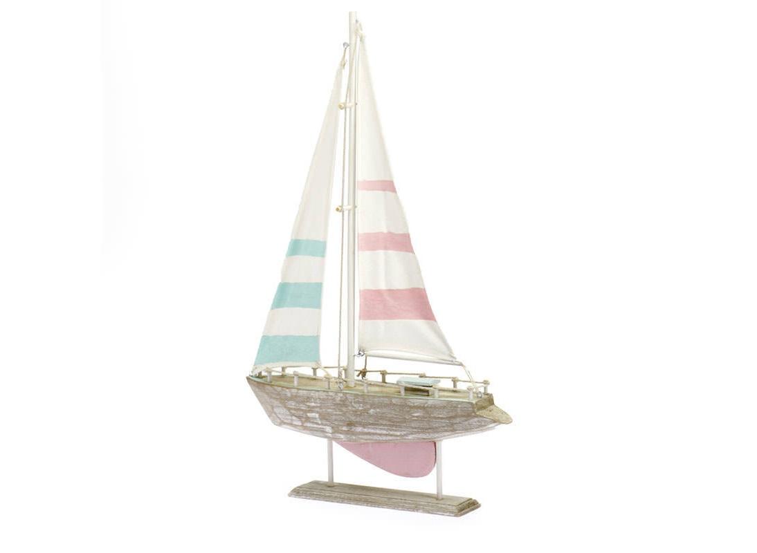 Декоративная лодка MonegliaСтатуэтки<br><br><br>Material: Дерево<br>Width см: 31<br>Depth см: 5<br>Height см: 49