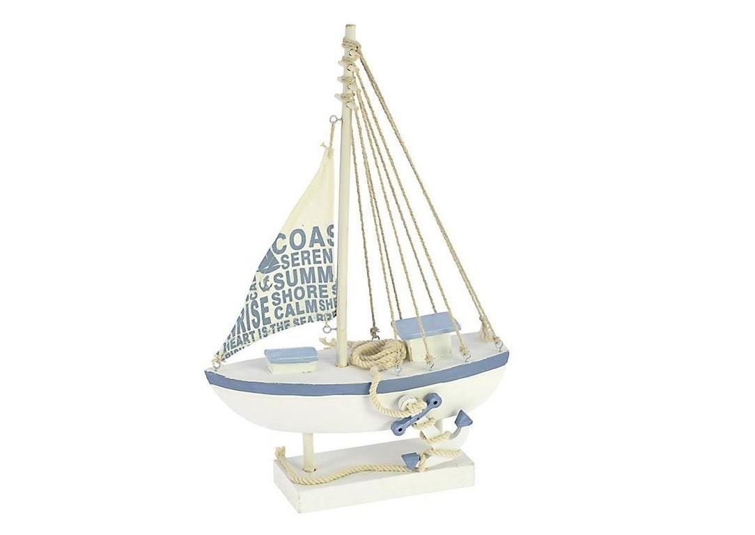 Корабль декоративный MonigaСтатуэтки<br><br><br>Material: Дерево<br>Width см: 23<br>Depth см: 9<br>Height см: 37,5