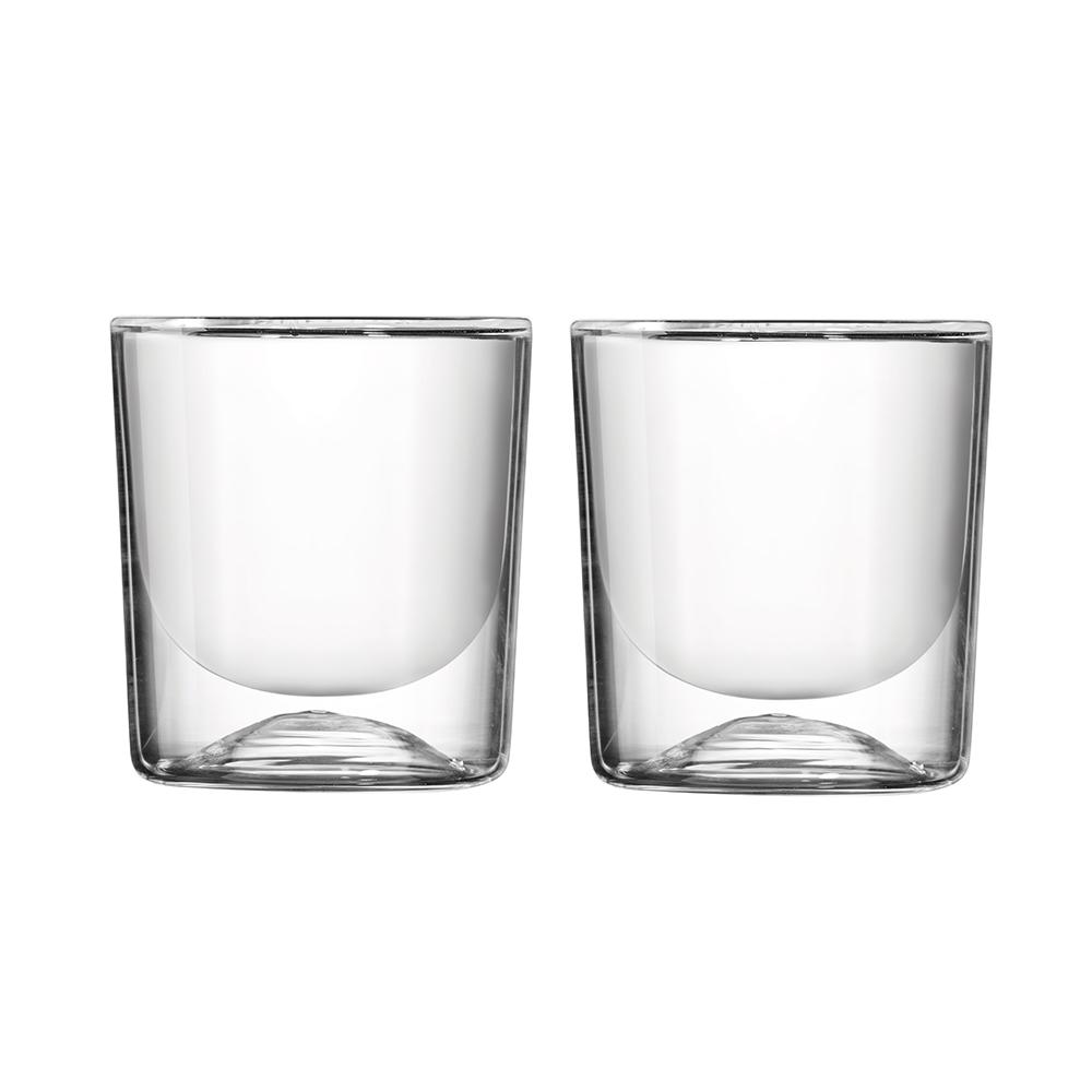 Термостаканы Gocce (2 шт.)Стаканы и кружки<br>Термостаканы Gocce - это сочетание классического дизайна, качественного материала и высокой функциональности. Идеально подойдут для тех, кто любит наслаждаться разнообразными напитками, начиная от прохладных лимонадов и заканчивая обжигающим эспрессо. Двойные стенки стаканов не дадут горячим напиткам остыть, а холодным - нагреться.  <br>Изготовлены из боросиликатного выдувного стекла ручной выработки, знаменитого своими термоизоляционными свойствами. Можно мыть в посудомоечной машине и использовать в микроволновой печи.&amp;amp;nbsp;&amp;lt;div&amp;gt;&amp;lt;br&amp;gt;&amp;lt;/div&amp;gt;&amp;lt;div&amp;gt;&amp;amp;nbsp;Объем стакана - 270 мл.&amp;lt;/div&amp;gt;<br><br>Material: Стекло<br>Height см: 9,3<br>Diameter см: 8,5