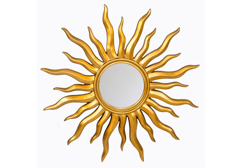 Настенное зеркало «Сан-Тропе»Настенные зеркала<br>Золотистая оправа зеркала «Сан-Тропе» эффектно акцентирована кристальными отблесками зеркального фацета. Зеркало &amp;quot;Сан-Тропе&amp;quot; - эталон эклектики, дружественной большинству интерьерных направлений. Особый комплимент - поклонникам салонного &amp;quot;ар-деко&amp;quot;. Зеркало имеет толщину 5 мм, покрыто серебряной амальгамой. Рама изготовлена из полиуретана, - экологически безвредного материала. Полиуретан достоверно имитирует любые материалы. На первый взгляд оправа зеркала не отличается от металлической.&amp;lt;div&amp;gt;&amp;lt;br&amp;gt;&amp;lt;/div&amp;gt;&amp;lt;div&amp;gt;&amp;lt;div&amp;gt;Материал: рама - полиуретан, зеркало с серебряной амальгамой, толщина зеркального стекла - 5 мм&amp;lt;/div&amp;gt;&amp;lt;/div&amp;gt;&amp;lt;div&amp;gt;&amp;lt;br&amp;gt;&amp;lt;/div&amp;gt;<br><br>Material: Полиуретан<br>Width см: None<br>Depth см: 4<br>Height см: None<br>Diameter см: 107.5