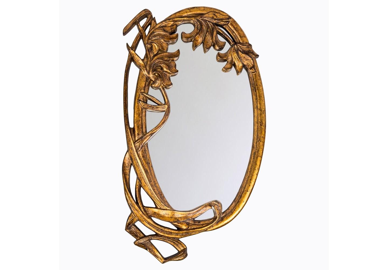 Настенное зеркало «Парадиз»Настенные зеркала<br>Являясь прямым наследником классического рококо, зеркало &amp;quot;Парадиз&amp;quot; не чуждо интерьерам в жанрах ампира, ренессанса, барокко, романского стиля. Особый комплимент - любителям салонного &amp;quot;ар-деко&amp;quot;. Винтажный узор - словно воспоминания из прошлых столетий. Зеркало покрыто серебряной амальгамой. Рама изготовлена из полиуретана, - экологически безвредного и долговечного материала. Полиуретан достоверно имитирует любые материалы. На первый взгляд оправа зеркала &amp;quot;Парадиз&amp;quot; не отличается от металлической.&amp;lt;div&amp;gt;&amp;lt;br&amp;gt;&amp;lt;/div&amp;gt;&amp;lt;div&amp;gt;Материал: рама - полиуретан, зеркало с серебряной амальгамой, толщина зеркального стекла - 5 мм&amp;lt;br&amp;gt;&amp;lt;/div&amp;gt;<br><br>Material: Полиуретан<br>Width см: 63.5<br>Depth см: 5<br>Height см: 99.5