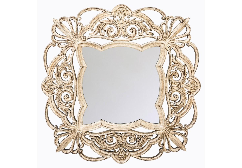 Настенное зеркало «Шамони»Настенные зеркала<br>Эклектичные детали зеркала «Шамони» вводят его в интерьеры французского классицизма, романского и испанского стилей, &amp;quot;ар-деко&amp;quot;, &amp;quot;модерна&amp;quot;, &amp;quot;шале&amp;quot; и &amp;quot;лофта&amp;quot;. Кружевные зеркала одинаково эффектны для однотонных стен и цветных обоев.  Зеркало имеет толщину 5 мм, покрыто серебряной амальгамой. Рама изготовлена из полиуретана, - экологически безвредного и прочного материала. Полиуретан достоверно имитирует любые материалы. На первый взгляд оправа зеркала &amp;quot;Шамони&amp;quot; не отличается от металлической.&amp;lt;div&amp;gt;&amp;lt;br&amp;gt;&amp;lt;/div&amp;gt;&amp;lt;div&amp;gt;Материал: рама - полиуретан, зеркало с серебряной амальгамой, толщина зеркального стекла - 5 мм&amp;lt;br&amp;gt;&amp;lt;/div&amp;gt;<br><br>Material: Полиуретан