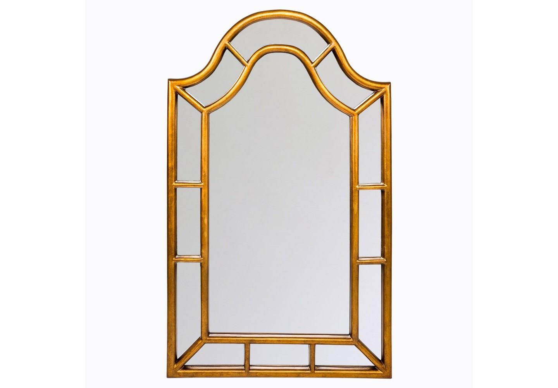 Настенное зеркало «Пале-Рояль»Настенные зеркала<br>Зеркало &amp;quot;Пале-Рояль&amp;quot; - золотая середина между декоративностью и практичностью, респектабельностью и богемным глянцем, романтичным &amp;quot;ар-деко&amp;quot; и деловитым &amp;quot;модерном&amp;quot;. Зеркало  покрыто серебряной амальгамой. Рама изготовлена из полиуретана, - экологически безвредного и долговечного материала. Этот материал стоек к влаге и солнечному свету, краски не тускнеют и не выгорают. Полиуретан достоверно имитирует любые материалы. На первый взгляд оправа зеркала &amp;quot;Пале-Рояль&amp;quot; не отличается от металлической.&amp;lt;div&amp;gt;&amp;lt;br&amp;gt;&amp;lt;/div&amp;gt;&amp;lt;div&amp;gt;Материал:&amp;amp;nbsp;рама - полиуретан, зеркало с серебряной амальгамой, толщина зеркального стекла - 5 мм&amp;lt;br&amp;gt;&amp;lt;/div&amp;gt;<br><br>Material: Полиуретан<br>Width см: 76.5<br>Depth см: 3.5<br>Height см: 126.5