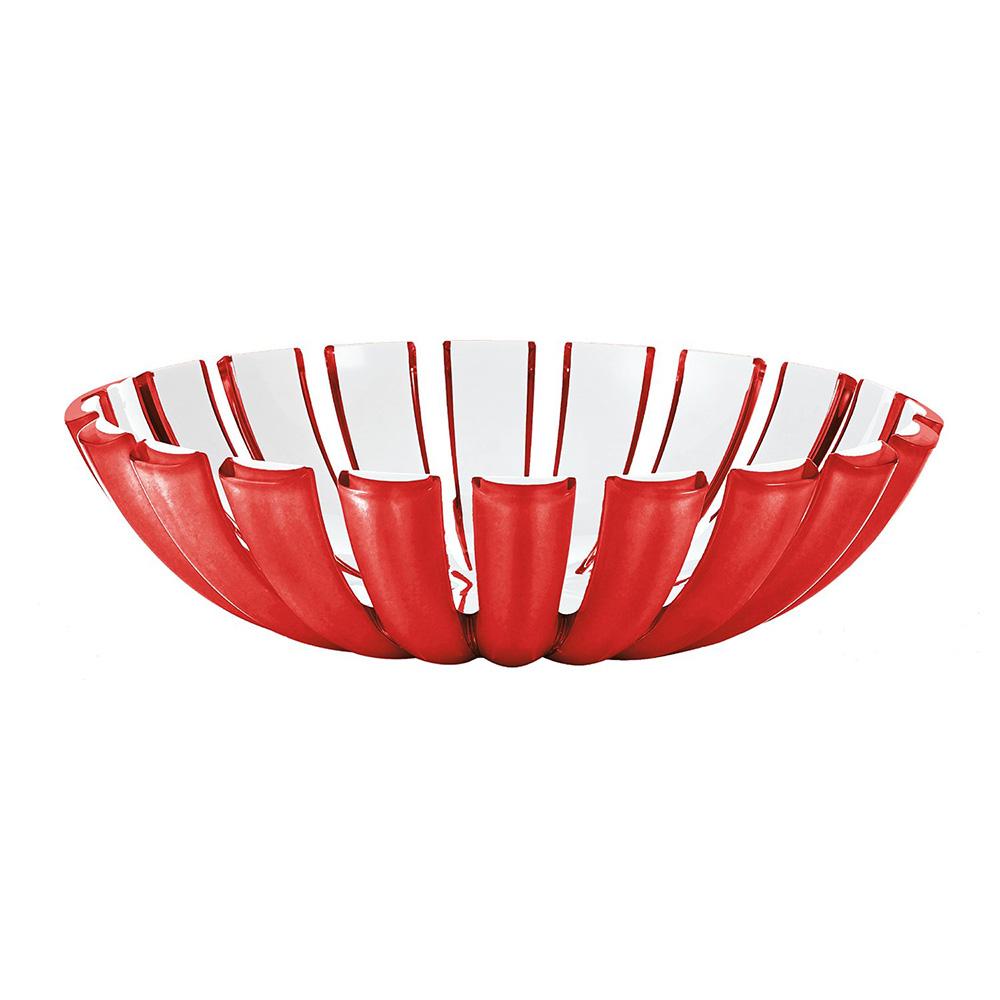 Блюдо глубокое GraceДекоративные блюда<br>Главная особенность блюда Grace - его необычная форма, в которой внешние, объемные и прозрачные края контрастируют с белоснежной внутренней поверхностью. Вместе они образуют уникальный рельефный эффект, который усиливается на свету. Универсальное по характеру, блюдо отлично исполнит роль вазы для фруктов или хлебницы для пикника.&amp;amp;nbsp;<br><br>&amp;lt;div&amp;gt;&amp;lt;br&amp;gt;&amp;lt;/div&amp;gt;&amp;lt;div&amp;gt;Изготовлено из безопасного пищевого пластика. Можно мыть в посудомоечной машине.&amp;lt;/div&amp;gt;<br><br>Material: Пластик<br>Высота см: 6