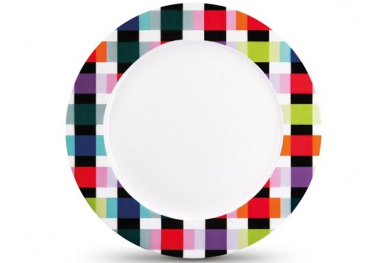 """Фарфоровая тарелка """"Colour caro"""""""