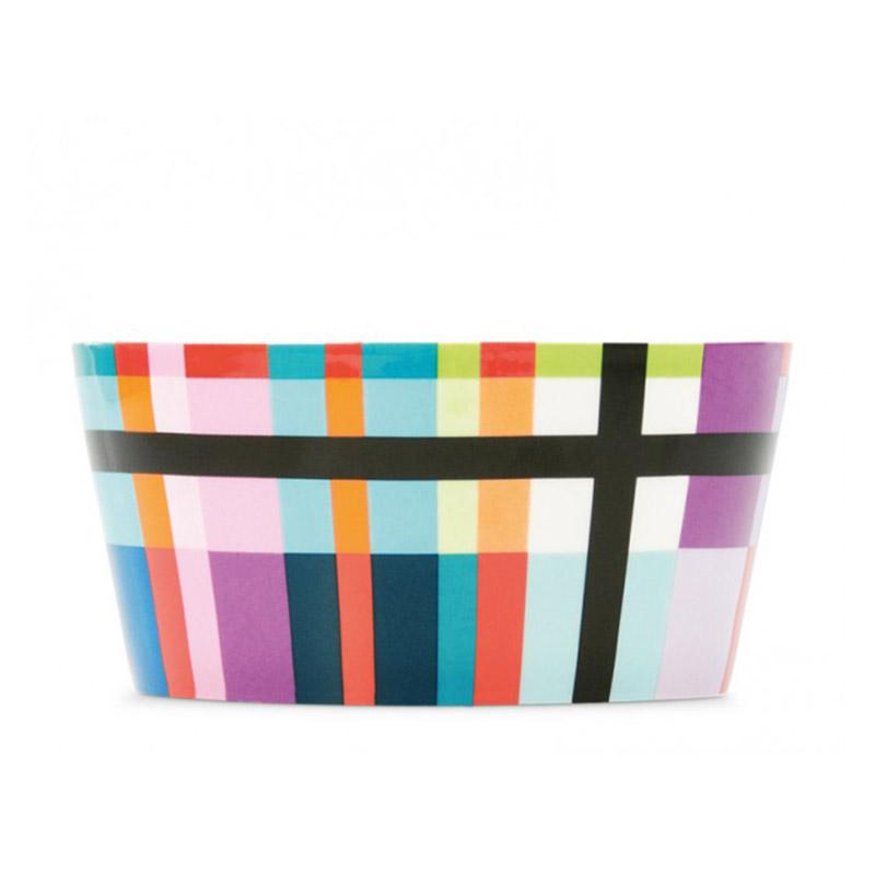Миска фарфоровая ZigzagЧаши<br>Небольшая глубокая миска, удобная для сервировки мюсли, салатов, супов. Объем — 450 мл. Стильная форма и яркие краски сочетаются с костяным фарфором высокого качества.&amp;amp;nbsp;&amp;lt;div&amp;gt;&amp;lt;br&amp;gt;&amp;lt;/div&amp;gt;&amp;lt;div&amp;gt;Можно мыть в посудомоечной машине. <br>Миска упакована в красивую подарочную коробку.&amp;lt;/div&amp;gt;<br><br>Material: Фарфор<br>Height см: 6,5<br>Diameter см: 13,1