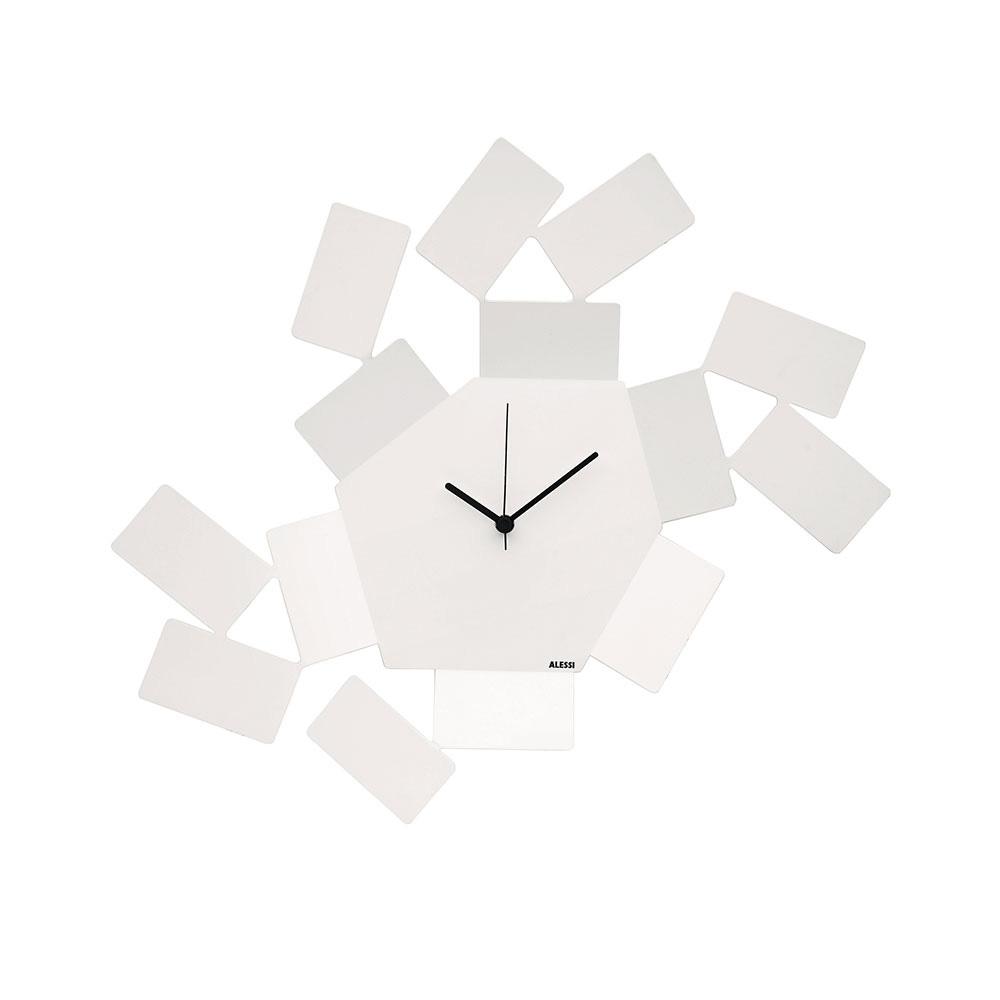 Часы настенные Stanza sciroccoНастенные часы<br>Необычные часы из нержавеющей стали. Тонкие стальные пластины, обрамляющие ассиметричный шестиугольный циферблат, образуют интересную игру света и тени. <br> На создание коллекции архитектора «Stanza Scirocco» и дизайнера Марио Тримарки вдохновили традиционные комнаты «сирокко», которые можно повстречать в богатых сицилийских домах. Эти небольшие помещения без окон предназначены для укрытия в случае сильного средиземноморского ветра. Шум могучих порывов, философские размышления о жизни и игра теней на стене — такова атмосфера этих комнат, в которых люди бывают вынуждены проводить в бездействии долгое время.&amp;lt;div&amp;gt;&amp;lt;br&amp;gt;&amp;lt;/div&amp;gt;&amp;lt;div&amp;gt;&amp;lt;div&amp;gt;Часы имеют кварцевый механизм.&amp;lt;/div&amp;gt;&amp;lt;div&amp;gt;Материал: нержавеющая сталь, окрашенная эпоксидной смолой.&amp;lt;/div&amp;gt;&amp;lt;div&amp;gt;Дизайн: Mario Trimarchi&amp;lt;/div&amp;gt;&amp;lt;/div&amp;gt;<br><br>Material: Сталь<br>Ширина см: 46<br>Высота см: 33