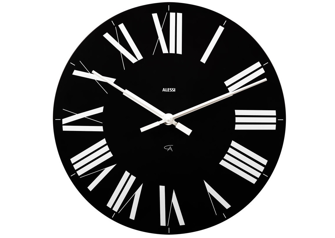 Часы настенные FirenzeНастенные часы<br>Классические часы в современной интерпретации.<br><br>Часы Firenze были созданы знаменитым итальянским дизайнером Акилле Кастильони в  1965 году. Впервые они были представлены на выставке La Casa Abitata  (ит. «Жилой дом»), проходившей в дворце Палаццо Строцци во Флоренции. А 1996 году дизайнеры Alessi применили элегантный классический дизайн для создания стильных современных часов с ультра-тонким циферблатом и элегантными римскими цифрами.&amp;lt;div&amp;gt;&amp;lt;br&amp;gt;&amp;lt;/div&amp;gt;&amp;lt;div&amp;gt;Ультра-тонкий циферблат выполнен из ABS-пластика. Часы имеют кварцевый механизм.&amp;lt;/div&amp;gt;<br><br>Material: Пластик<br>Diameter см: 36